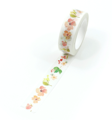 washi tape - cute flowers