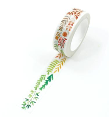 washi tape - folhas de outono