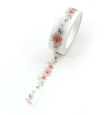washi tape - garden rose
