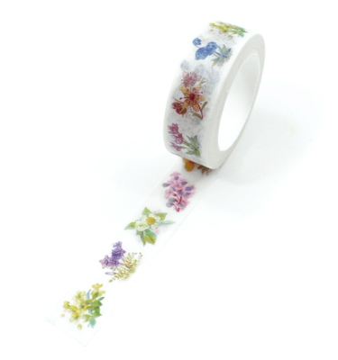 washi tape - secret garden