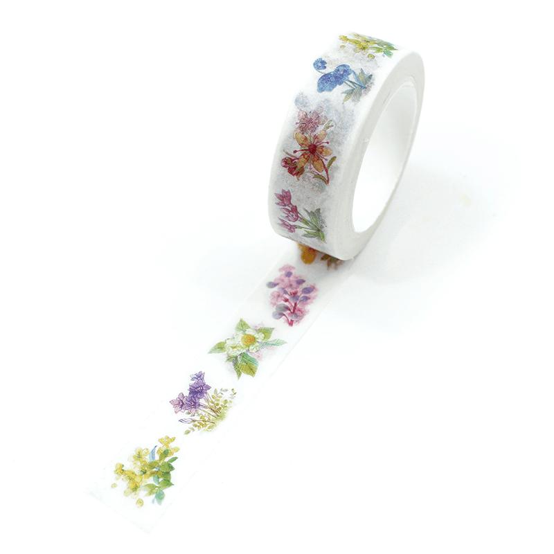 washi tape - secret garden
