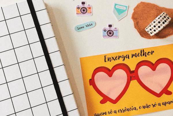 Caderno de recordações e memórias: como começar um + freebie