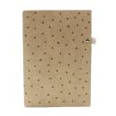 Planner A.Craft – Pasta porta caneta em papel kraft – Corações