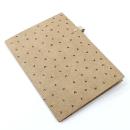 Planner A.Craft – Pasta porta caneta em papel kraft – Corações2