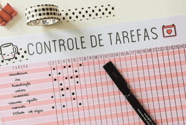 Tracker de hábitos ou lista de tarefas: qual é o melhor para você? (+ freebie para baixar) planner bullet journal