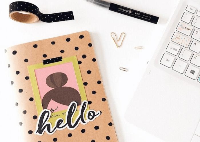 Die cuts: O que são e para que servem decorar bullet journal planner
