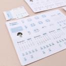 Adesivos para planner não datado – 1º trimestre 2019 1