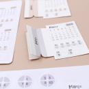 Adesivos para planner não datado – 1º trimestre 2019 3