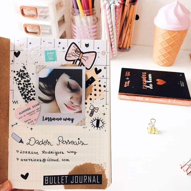 Die cuts: O que são e para que servem decorar bullet journal