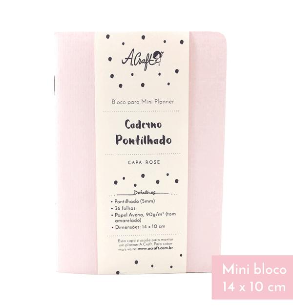 Planner-A.Craft-–-Mini-bloco-caderno-pontilhado-capa-colorida-Rose