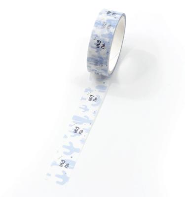 Washi tape – Cactos azuis - Hug me