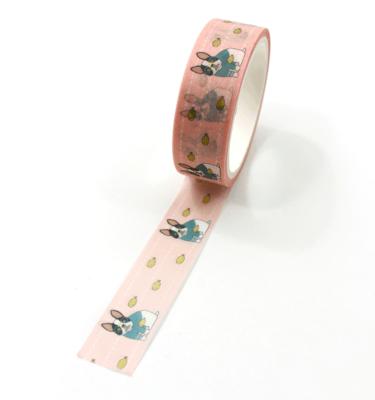 Washi-tape-–-Celebrity-Dog---Rosa---Buldog-Francês-e-frango-frito3