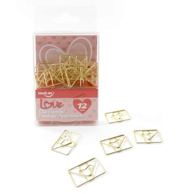Clips-envelope-dourado