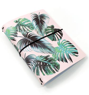 Planner-A.Craft-–-Capa-Tea-Rose-estampa-Folhas-Tropicais-(para-4-blocos)