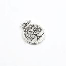 Acessório para planner A.Craft – Pingente prata – Árvore da vida1