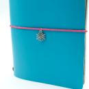 Acessório para planner A.Craft – Pingente prata – Floco de neve2