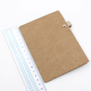 Planner A.Craft – Mini Pasta porta caneta em papel kraft2