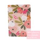 Planner A.Craft – Mini não datado - Floral pêssego