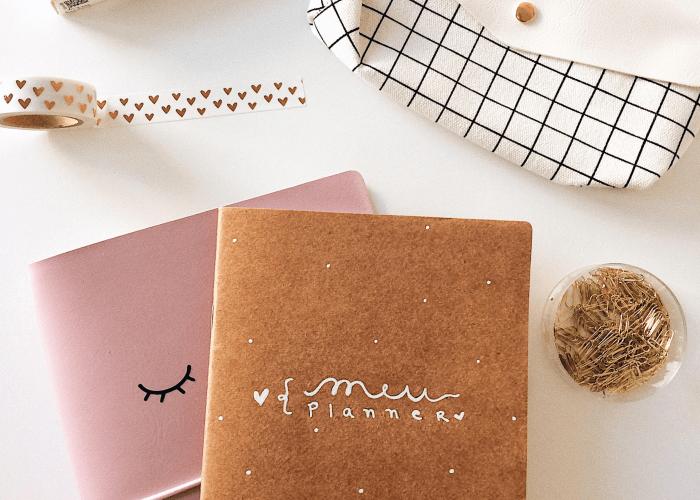 Como criar um Planner minimalista
