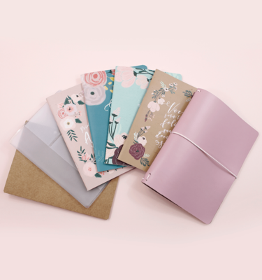 Kit planner A.Craft 2019 completo – Capa rosa millennial