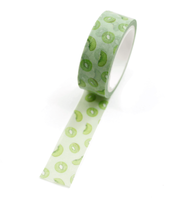 Washi-tape-–-Fruits---Kiwi