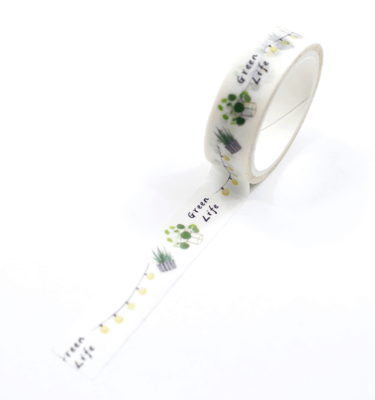 Washi-tape-–-Plants---Green-life