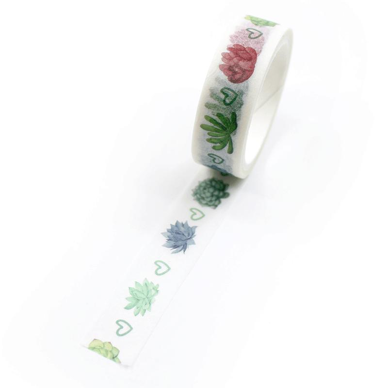 Washi-tape-–-Plants---Suculentas
