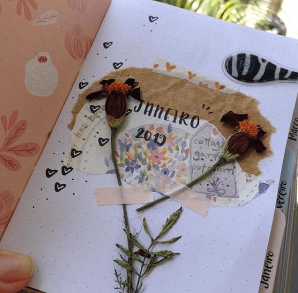 Como secar flores para planner