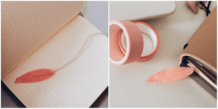 5 formas criativas de marcas as páginas do seu planner pena washi tape