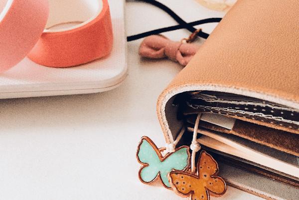 5 formas criativas de marcas as páginas do seu planner