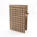 Planner A.Craft – Pasta porta caneta em papel kraft – Quadriculado2
