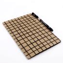 Planner A.Craft – Pasta porta caneta em papel kraft – Quadriculado3
