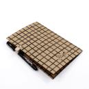 Planner A.Craft – Pasta porta caneta em papel kraft – Quadriculado5
