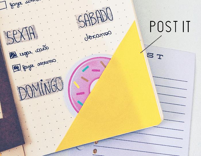Dicas criativas para decorar seu bullet journal