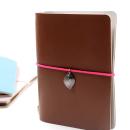Acessório para planner A.Craft – Pingente prata – Folha3