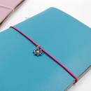 Acessório para planner A.Craft – Pingente prata – Leme3