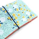 Planner A.Craft – Capa Mint – Estampa jardim silvestre (para 4 blocos)4
