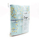 Planner A.Craft – Capa Mint – Estampa jardim silvestre (para 4 blocos)6