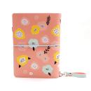 Planner A.Craft – Capa Peach – Estampa primavera (para 4 blocos)1