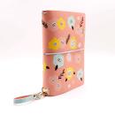 Planner A.Craft – Capa Peach – Estampa primavera (para 4 blocos)2