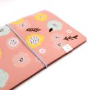 Planner A.Craft – Capa Peach – Estampa primavera (para 4 blocos)3