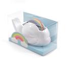 Suporte para fita adesiva nuvem + Fita adesiva arco íris1