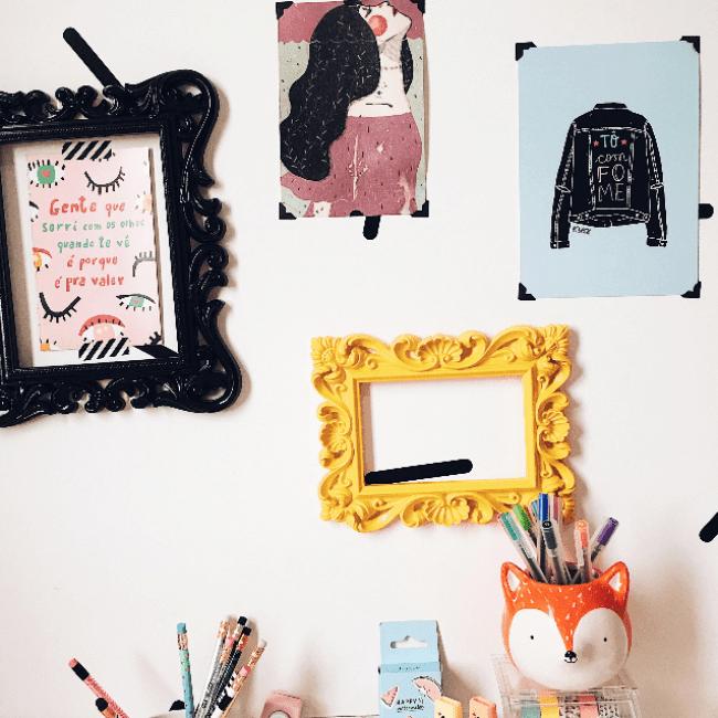 Dicas para decorar seu quarto com o que você já tem em casa