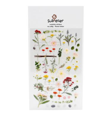 Adesivo - Flower letter