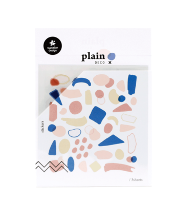 Adesivo decorativos - Plain deco - Manchas