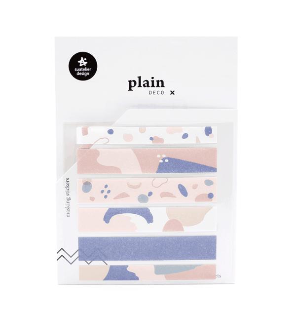 Adesivo decorativos - Plain deco tape - Manchas coloridas