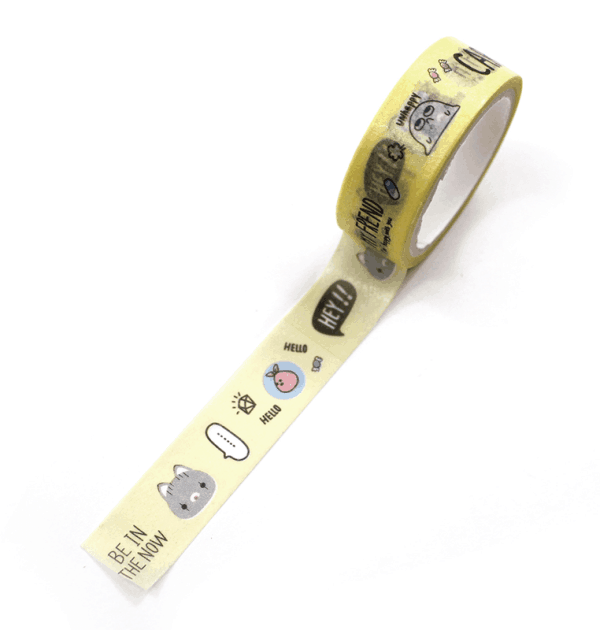 Washi tape – Be in the now