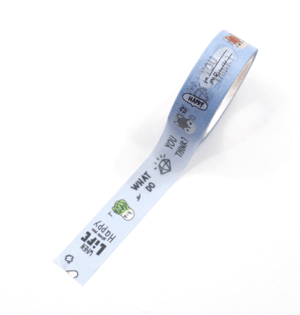 Washi tape – Love me ♥ more