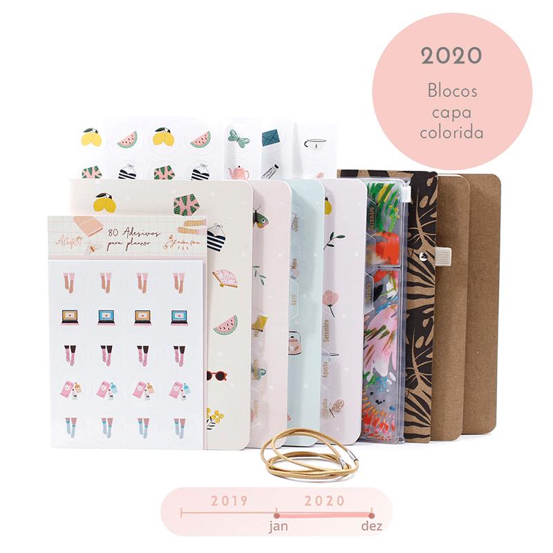Kit planner A.Craft [+completo] para o ano de 2020