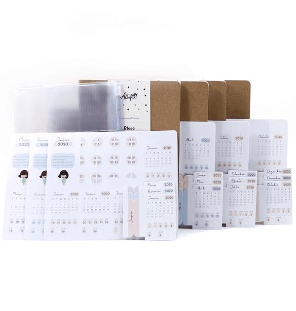 Kit planner A.Craft [menor custo] para o ano de 2020